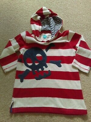 mini boden towelling hoodie age 3-4 years