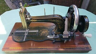 Antique Fiddle Base Sewing Machine ~ WORKING CONDITION! Possibly German