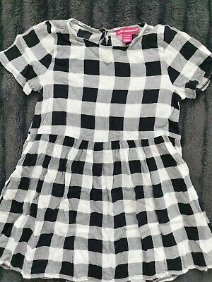 Girls Primark Young Dimension Tartan Dress Age 5-6yrs