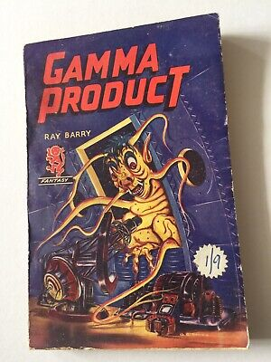 British Science-Fiction Pulp Paperback. Gamma Product. 1950S