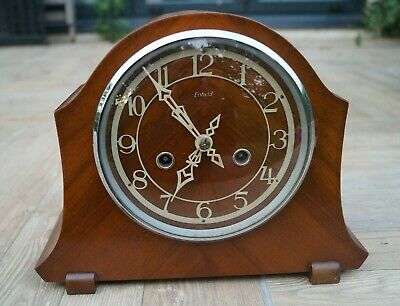 ENFIELD time strike mantel clock.SEE VIDEO.
