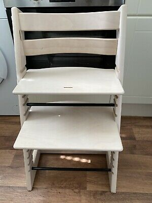 Stokke Tripp Trapp Highchair In White Wash Colour