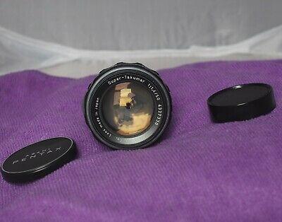 Asahi Super-Takumar 50mm f1.4 in M42 mount in immaculate condition