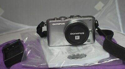 Olympus PEN E-PL3 m4/3 camera Body Only Silver