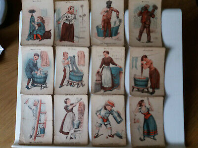 Vintage playing cards ?Happy Families ?1900s lovely set of Victorian? cards