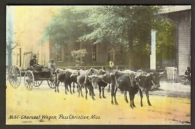 "Ms. ""No.61 Charcoal Wagon, Pass Christian, Miss"". Pub Northrop Drug Store"