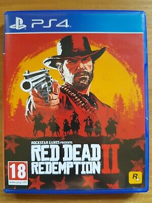 PS4 Red Dead Redemption 2 Immaculate Condition