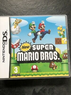 Suprer Mario Bros For Ninetendo DS Game Boxed