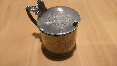 Georgian Silver Mustard Pot London  1811