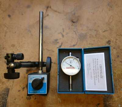 Axminster Dial Test Indicator and Magnetic Base
