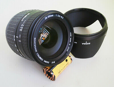 Sigma 28-300mm f3.5-6.3 Aspherical IF Zoom Lens with Minolta/Sony A Mount Repair
