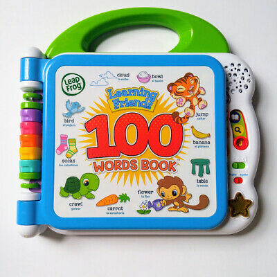 LeapFrog Learning Friends 100 Words Book Electronic Learning Toy Toddlers Baby