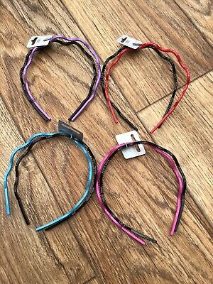 Wholesale Job Lot Pack Of 9 Twin Pack Headbands Alice Bands Hair Style Wiggly