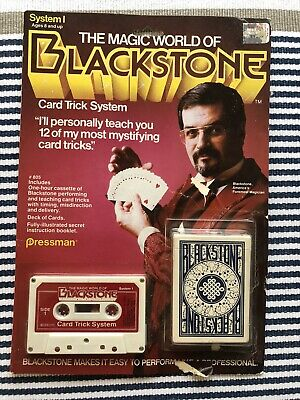 The Magic World of Blackstone Card Trick System Harry Blackstone Pressman 1983