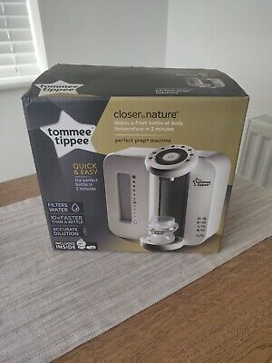 Tommee Tippee Closer To Nature Perfect Prep Machine White - BRAND NEW
