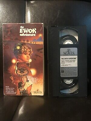 The Ewok Adventure (VHS, 1984) Star Wars Lucas- Tested Very Good