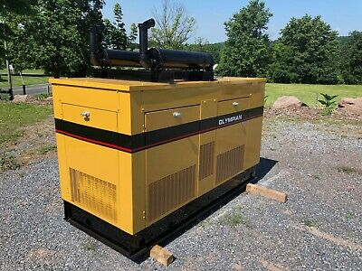 30 Kw Olympian Lp Or Natural Gas Generator Low Hours Load Bank Tsted Enclosed
