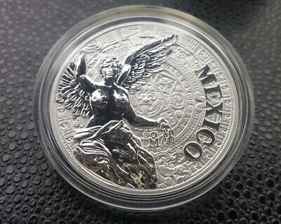 2016 Mexico Silver Medal Mexican Elements Proof / Reverse Proof Finish Libertad