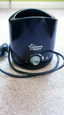 Tommee tippee electric bottle warmer,black,good,clean used condition