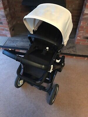 Bugaboo Buffalo Pram Pushchair Excellent Conditon Barely Used White