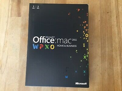 Microsoft Office:Mac 2011 (Home & Business) Software