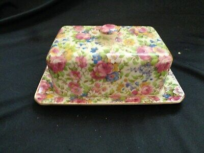Grimwades Royal Winton Summertime Chintz Butter Dish