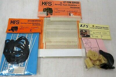 1/24 Kit Form Services Winch, Ratchet Straps, Tanker Walkways New In Packs