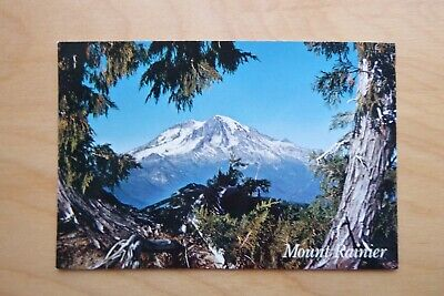 Postcard, Mt Rainier National Park, Michael Siegrist Photo