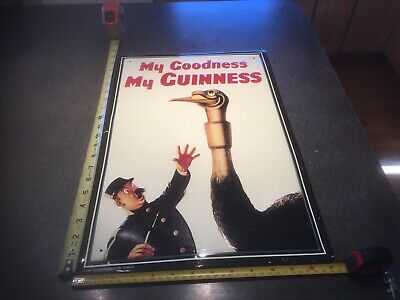 Guinness My Goodness My Guinness 🍻 Beer Bar Pub Metal Sign Dims 13*20  Sweet