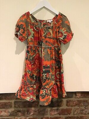 Marks & Spencer Girls Boutique Lovely Girls Long Top /Dress Age 9 Yrs VGC