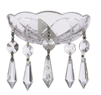 Box of 68-45MM CLEAR Asfour Crystal Lead Round #1041 Chandelier Parts 1 Hole