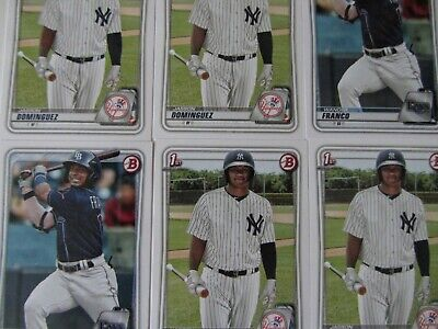 2020 Bowman Paper Prospects - YOU PICK