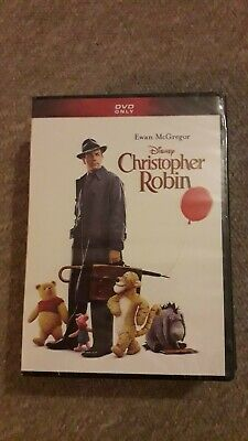 Christopher Robin DVD New and Sealed Ewan McGregor Winnie the Pooh