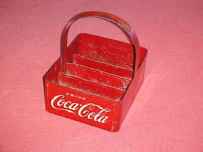 Coca Cola Bottle Carrier-1940`S-Coca Cola 20 Bottle Stadium Vendor Carrier