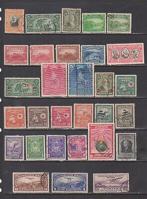 Haiti Mostly Used Collection of Early 20th Century Stamps