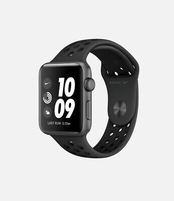 Apple Watch Series 3 42mm GPS Cellular Nike Aluminum Case SpaceGray