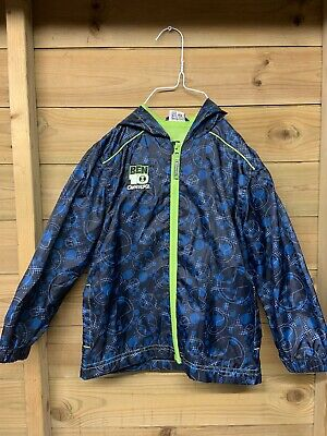 Ben 10 Omniverse 5-6 Years Rain Jacket Coat by Mother Care, Good Condition