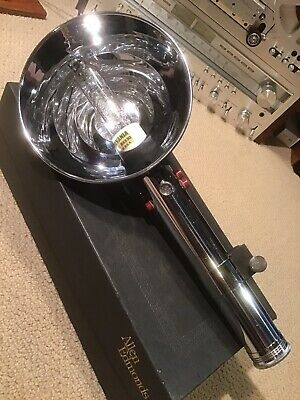 Rare Vtg Heiland Research Flash Tube and Flash Assembly w/ Jewel Lightsaber