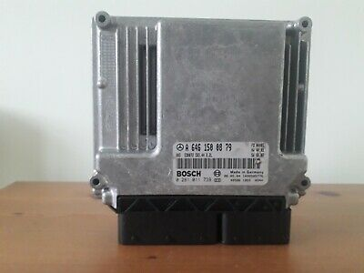 Mercedes C200 ECU A6461500879. Removed From Working Car.