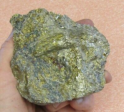 Large Mineral Specimen Of Copper Ore, Chalcopyrite,- Bornite From Nevada
