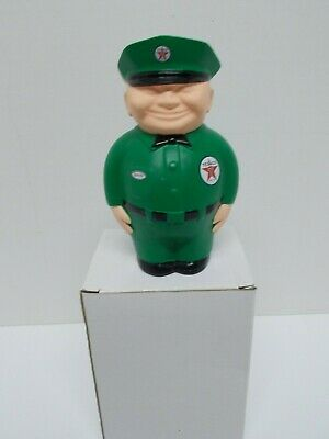 "Re-Issue 1940's TEXACO ""Spanky the Fat Man""  Cast Resin Coin Bank w/Box~ca 1998"
