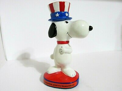 Snoopy Peanuts Charlie Brown Determined Vintage Figure Figurine 1971