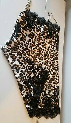 Victoria's Secret animal print lace camisole size Small NWOT! This is a STEAL!