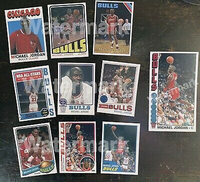 Michael Jordan Custom Card Lot 10 Cards The Last Dance Aceo