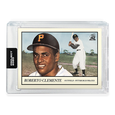 PRESALE Topps Project 2020 Roberto Clemente #78 ~ by Oldmanalan ~ PR 8610