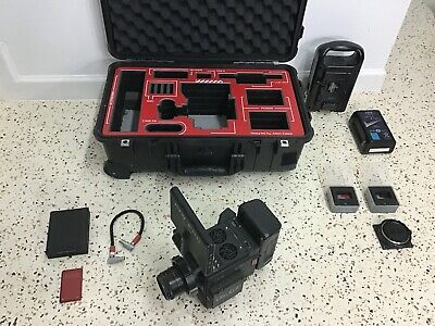 """RED EPIC-W HELIUM 8K S35 DSMC2 HUGE KIT, LCD, 512GB,4.7""""LCD, CAGE,OUTRIGGER,Lens"""