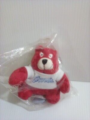 Official Charmin Red Bear Plush Toy (Toilet Paper Mascot)
