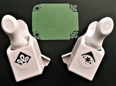 Martha Stewart 2 X Corner Punches - Loops & Snowflake - Read Notes For Details