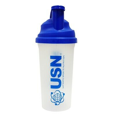 USN Ultimate Sports Nutrition Protein Mixer Mixing Blue Bottle Gym Sports Shake