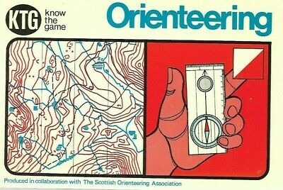 "VINTAGE BOOK: ""ORIENTEERING"" PUB in collab THE SCOTTISH ORIENTEERING ASSOCIATION"